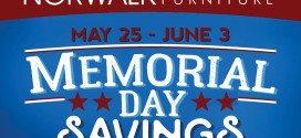Brian's Furniture – Memorial Day Savings, May 25-June 3