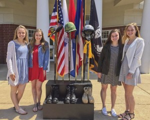 """We were lucky to be a part of a great event today,"" say Avon students who attended last week's memorial tribute at the high school. We thank all of our Veterans & those who serve our country."