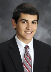 Co-Salutatorian Peter Stamatis