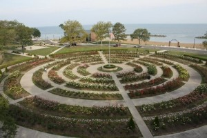 Lakeview Park's Rose Garden, Lorain