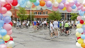 Project Pedal balloon arch-1