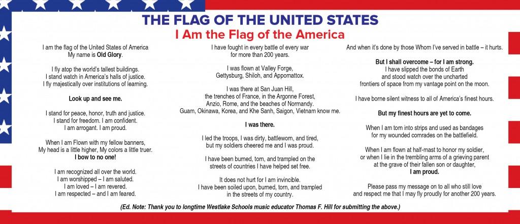 USA Flag Poem1