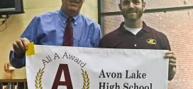 Avon Lake High School Earns All A Award