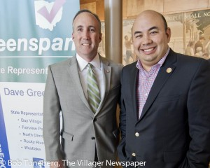 Dave Greenspan and Ohio Speaker of the House Cliff Rosenberger