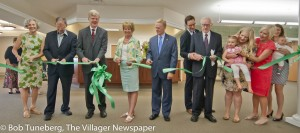 Members of the O'Neill family joined with city officials for the ribbon cutting of the new O'Neill Healthcare Bay Village Memory Support Assisted Living Wing.