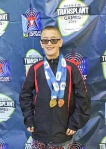 Nathan earned earned a Silver medal in golf, a Bronze in the 1 K cycling, and a Bronze in Youth basketball.