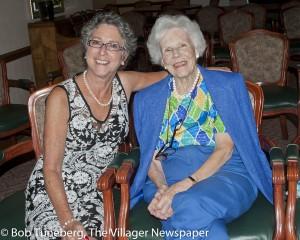Barbara Greenberg and Ruth Thurber