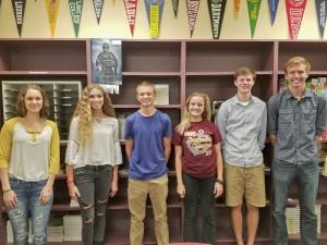 Avon Lake High School National Merit Scholarship Commended Students: Tait Keller, Cathe-rine McNaghten, Andrew Peachman, Caitlin Perez-Stable, Samuel Redman and Andrew Shee
