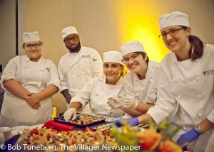 Students of the Lorain County Community College Culinary Program shared their talents at the 12th annual Mercy Foundation of Lorain County 'Taste of Friendship'