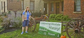 Westlake Girl Scout Links Present to Past using Technology