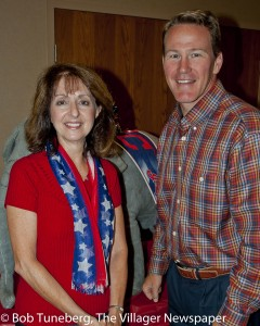 State Representative Nan Baker and Ohio Secretary of State Jon Husted