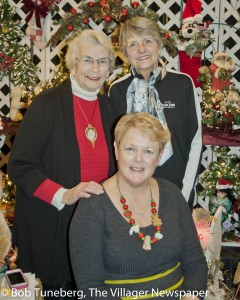 Linda Loveless, show director, welcomed Mrs. Claus Closet founders Ruth Hopkins and Judy Burke, to last year's show. Linda stays true to the show's tradition, dedicating proceeds of the show to charity, while also offering truly unique crafts and gift ideas.