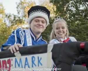 Bay Village Royalty, King Mark Majercik and Queen Martha Swanson