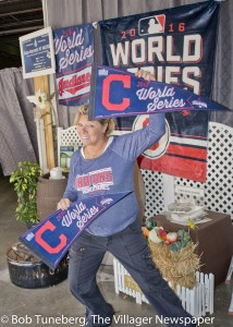Go Tribe! It's the World Series and Opening Day all at once at Ann Gedeon's new Rain Barrels N' MORE now located in the former Bonne Bell building at 1006 Crocker Road in Westlake. Annie invites one and all to stop in her new location and help her cheer the Tribe to the title.