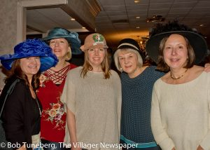 Social workers and event coordinators Traci Herbruck, Peggy Filippi, Nicole Herbst, Debbie Ad-ams and Gwen Paull.