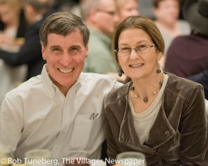 Dr. Timothy Spiro, Medical Director of the Moll Cancer Center at Fairview Hospital and his wife Lorraine.