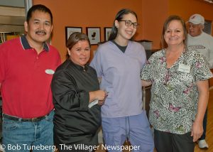 The caring staff at the all new Avon Place.