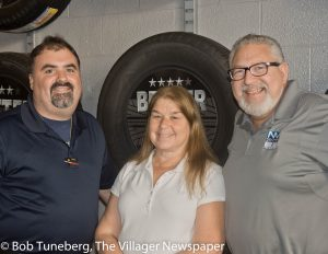Service Manager Dave Moga, Lincoln Service Specialists Sandy Zacharias and Nick Nunnari are at the ready for all Nick Mayer customers - even those that drive models from other manufacturers.