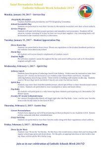 CSW Schedule 2017