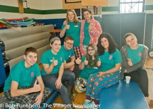 """Teen volunteers are """"hands on"""" assistants to Youth Challenge participants. Volunteers are paired one-on-one with a YC partner at each activity and do what is needed to best meet the physical and personal needs of participants. A BIG thank you to all the teen volunteers!"""