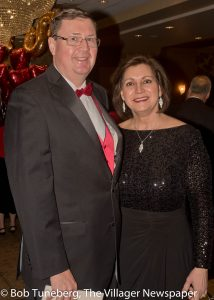 John Mills, Sr. Vice President of Operations at Fairview Hospital with his wife, Dr. Deborah Ghazoul-Mills.