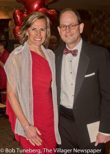 Dr. Rebecca Starck, President, Avon Hospital and her husband, Joe.