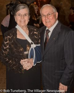 Lois Magisano with her husband, Community West Foundation Life Trustee Dr. James Magisa-no.