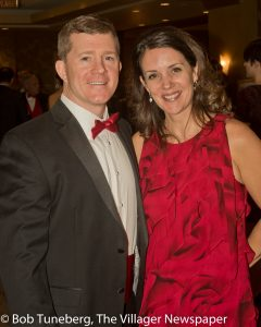 Community West Foundation and Fairview Hospital Board Member Patrick Mulloy with his wife, Laura.