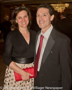 Kimberly Vlastaris with her husband, Dr. Anthony Vlastaris, Regional Medical Director, Cardio-vascular Services.