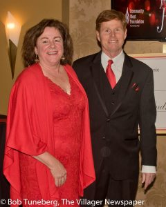 Donna Smith with her husband, Dr. Neil Smith, President, Fairview Hospital.