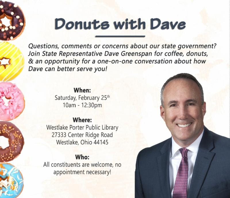 Donuts with Dave