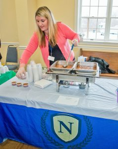 The Normandy Senior Living always supports the Soup Cook-Off with steamy delights from its gourmet kitchen.