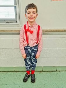 Avon Early Learning Center kindergartner, Rocco Young, 6.
