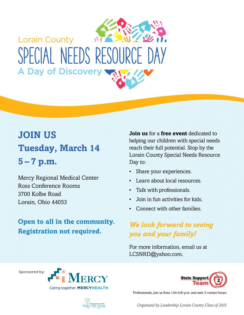 Special Needs Resource Day