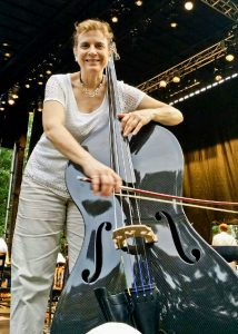 AnnGilbert onCarbon Fiber Bass (photo by Betty Lou Curatolo) -1