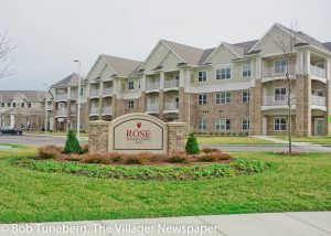 The elegant new Rose Senior Living Avon.