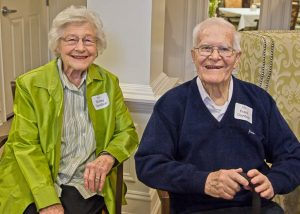 """Shirley and Frank Davidson, """"Welcome home."""""""