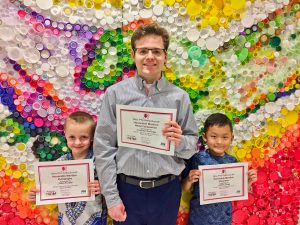 Three Westlake Students Receive Honorable Mention at State Competition