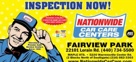 Summer Specials at Nationwide Car Care Centers