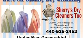 Sherry's Dry Cleaners Too: Under New Ownership!