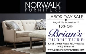 Brianu0027s Furniture Is Having A Norwalk Furniture Labor Day Sale. All Norwalk  Upholstery On Sale 15% Off From Now Until September 10.