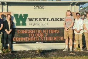 Seven Westlake High Students Named National Merit Commended Scholars