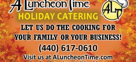 Villager's Ad Blaster: A Luncheon Time Catering Holiday Catering