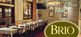 Brio Crocker Park: Early Dinners Starting at $12.95! Book Your Holiday Party Today at Brio Crocker Park