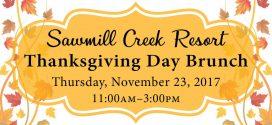 Sawmill Creek Resort Thanksgiving Day Brunch