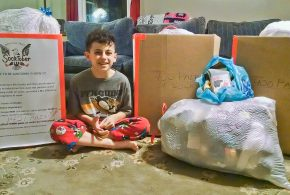 Westlake 4th Grader Helps City Mission Through Socktober