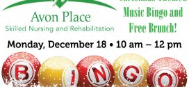Avon Place Skilled Nursing and Rehabilitation: Christmas Bingo
