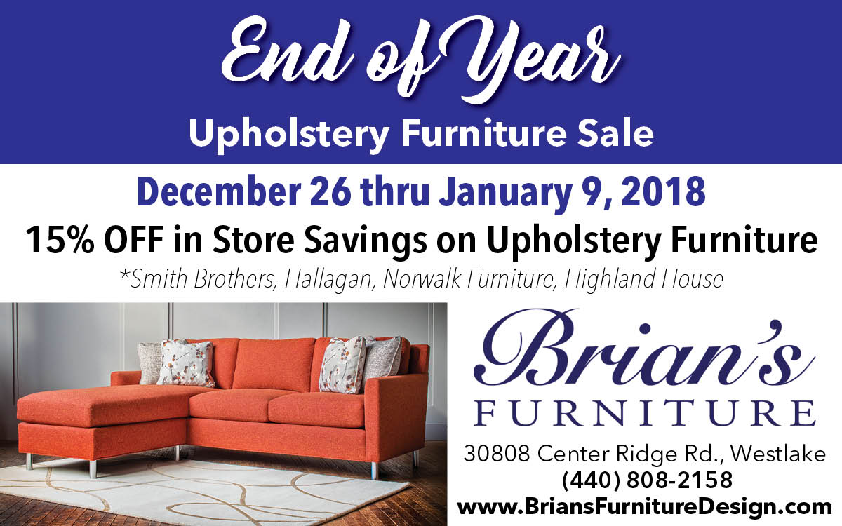 Brianu0027s Furniture: End Of Year Upholstery Furniture Sale   The Villager  Newspaper Online