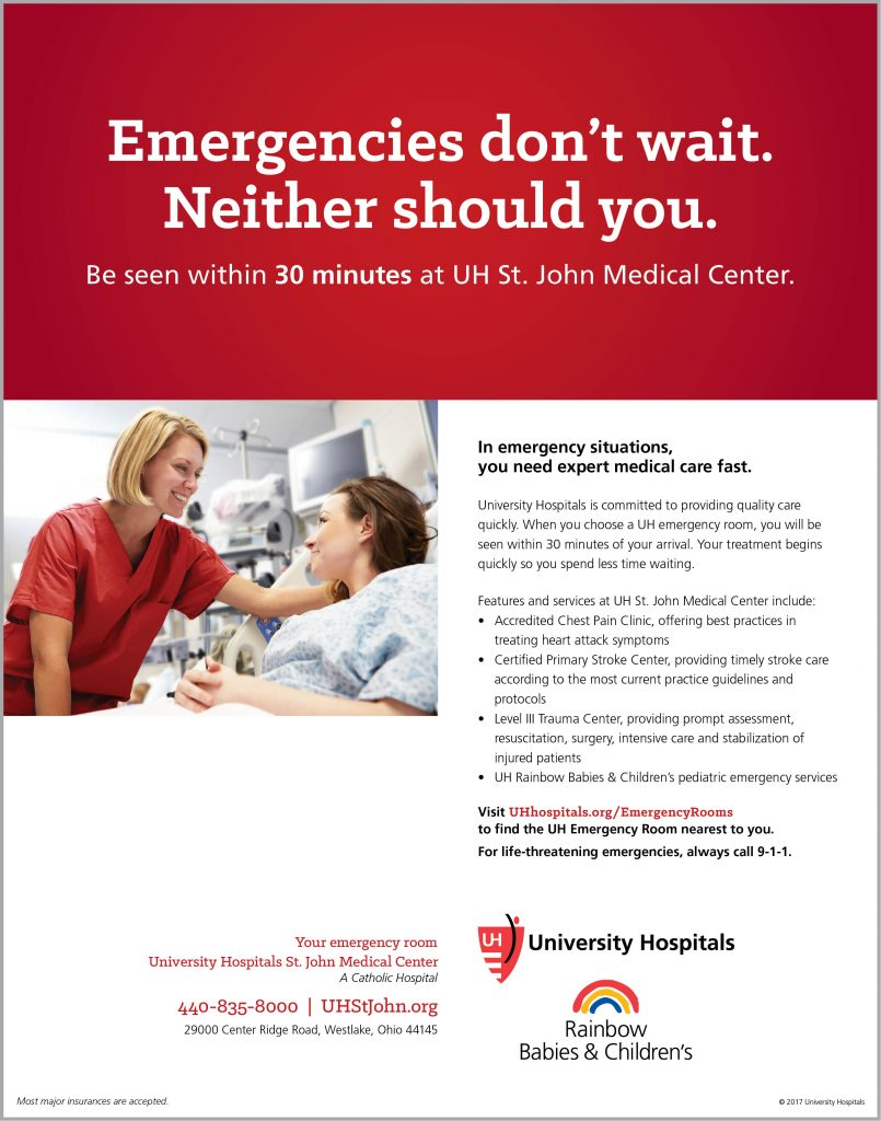 Five Stars for Quality: UH St  John Medical Center Achieves Highest