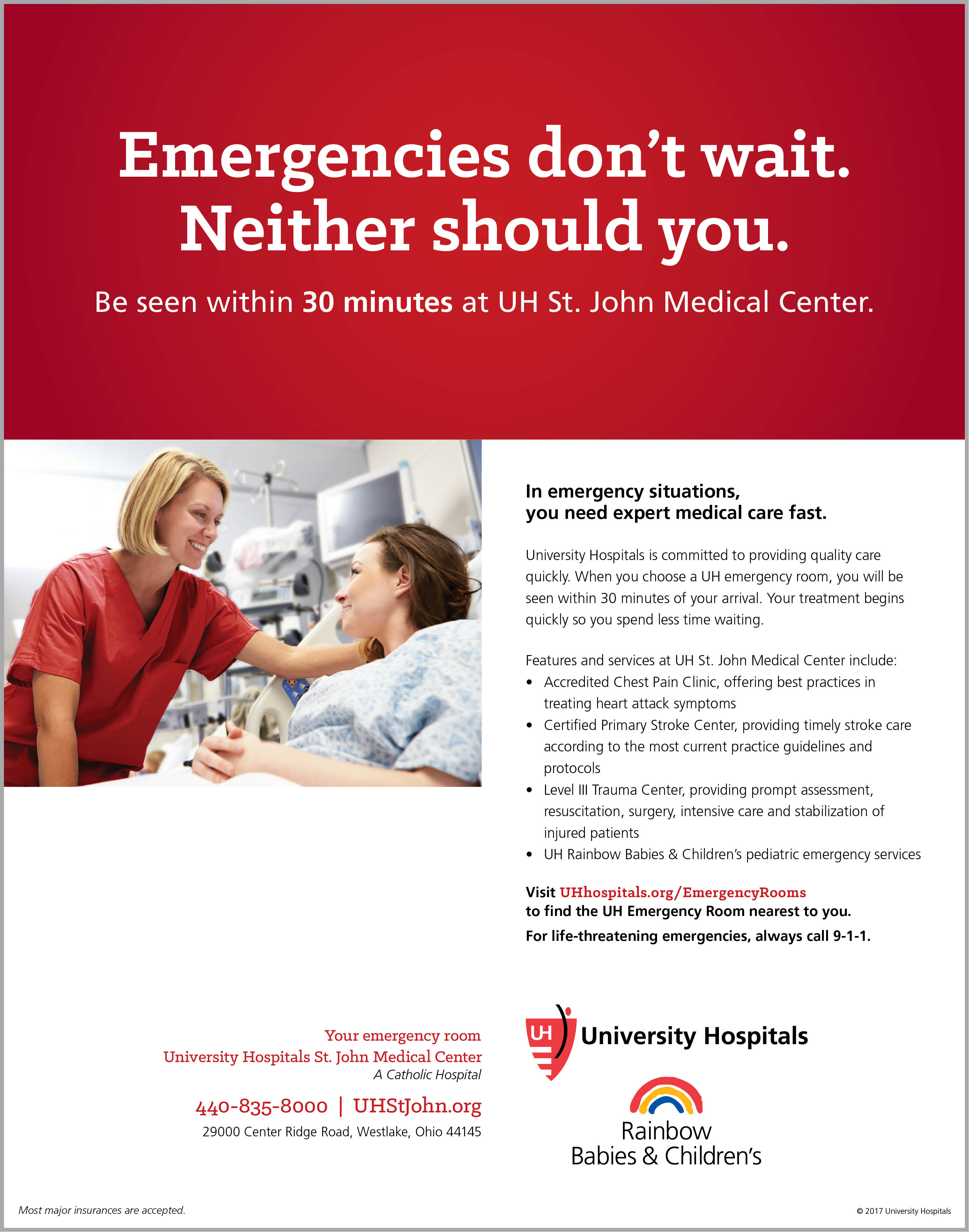 Five Stars for Quality: UH St  John Medical Center Achieves